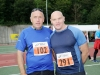 Gerry Gilchriest and Gerry Rehill from Longford at the Monaghan 10 Miler. ©Rory Geary/The Northern Standard