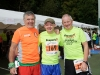 At the Monaghan 10 Miler were (L-R) Sean Sherry, Sean McCaffrey and John Kelly. ©Rory Geary/The Northern Standard