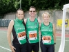 At the Monaghan 10 Miler from Carrick Aces were (L-R) Carmel McEneaney, Eric Byrne and Eithne McGorman. ©Rory Geary/The Northern Standard