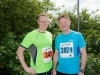 Adrian and Gerard Toal at the Monaghan 10 Miler, last Sunday. ©Rory Geary/The Northern Standard
