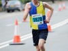Colm Kirk, Clones AC, who was 2nd in the 5 mile race. ©Rory Geary/The Northern Standard