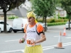 Ian Mr Chicken Cardwell, taking part in the Monaghan 10 Miler. ©Rory Geary/The Northern Standard