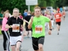 Conor Grainger, left and Robert Graydon, in a sprint finish at the Monaghan 10 Miler. ©Rory Geary/The Northern Standard