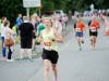 Charlotte Connolly from Glaslough Harriers, as she finished the Monaghan 10 Miler. ©Rory Geary/The Northern Standard
