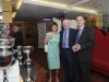 At the Monaghan Motor-club 60th Gala Ball in The Hillgrove Hotel were (L-R) Edel and John Hennessy and Brendan Flynn. ©Rory Geary/The Northern Standard