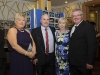 At the Monaghan Motor-club 60th Gala Ball in The Hillgrove Hotel were (L-R) Jackie and Gerard McCarron and Pauline and Paddy Sherlock. ©Rory Geary/The Northern Standard