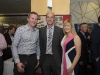 At the Hillgrove Hotel for the Monaghan Motor-club 60th Gala Ball, last weekend were (L-R) David Smith with Martin and Siobhan McPhillips. ©Rory Geary/The Northern Standard