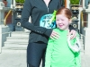 Mary and Aoibheann McEnaney at the Monaghan Town Runners Crocus 5k on St Patrick's Day. ©Rory Geary/The Northern Standard