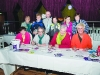 Some of the group from Crocus at the registration for the Monaghan Town Runners Crocus 5k were front (L-R) Elaine Tate, Denise Brennan, Mary Callery and Michelle Moffett.  Behind (L-R) Una Reilly, Mary Smith, John Lynch, Roseleen McElvaney, Fiona Skinnedar and Cathy Neeson. ©Rory Geary/The Northern Standard