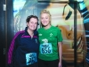 Ashling McKenna and Frances Meehan at the Monaghan Town Runners Crocus 5k. ©Rory Geary/The Northern Standard