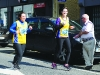Emma and Roisin from Monaghan Town Runners, taking part in the Monaghan Town Runners Crocus 5k. ©Rory Geary/The Northern Standard