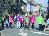Some of the group taking part in the Monaghan Town Runners Crocus 5k on St Patrick's Day. ©Rory Geary/The Northern Standard