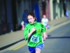 One of the Molly Twins as she finished the Monaghan Town Runners Crocus 5k. ©Rory Geary/The Northern Standard