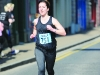 Jen O'Leary taking part in the Monaghan Town Runners Crocus 5k. ©Rory Geary/The Northern Standard