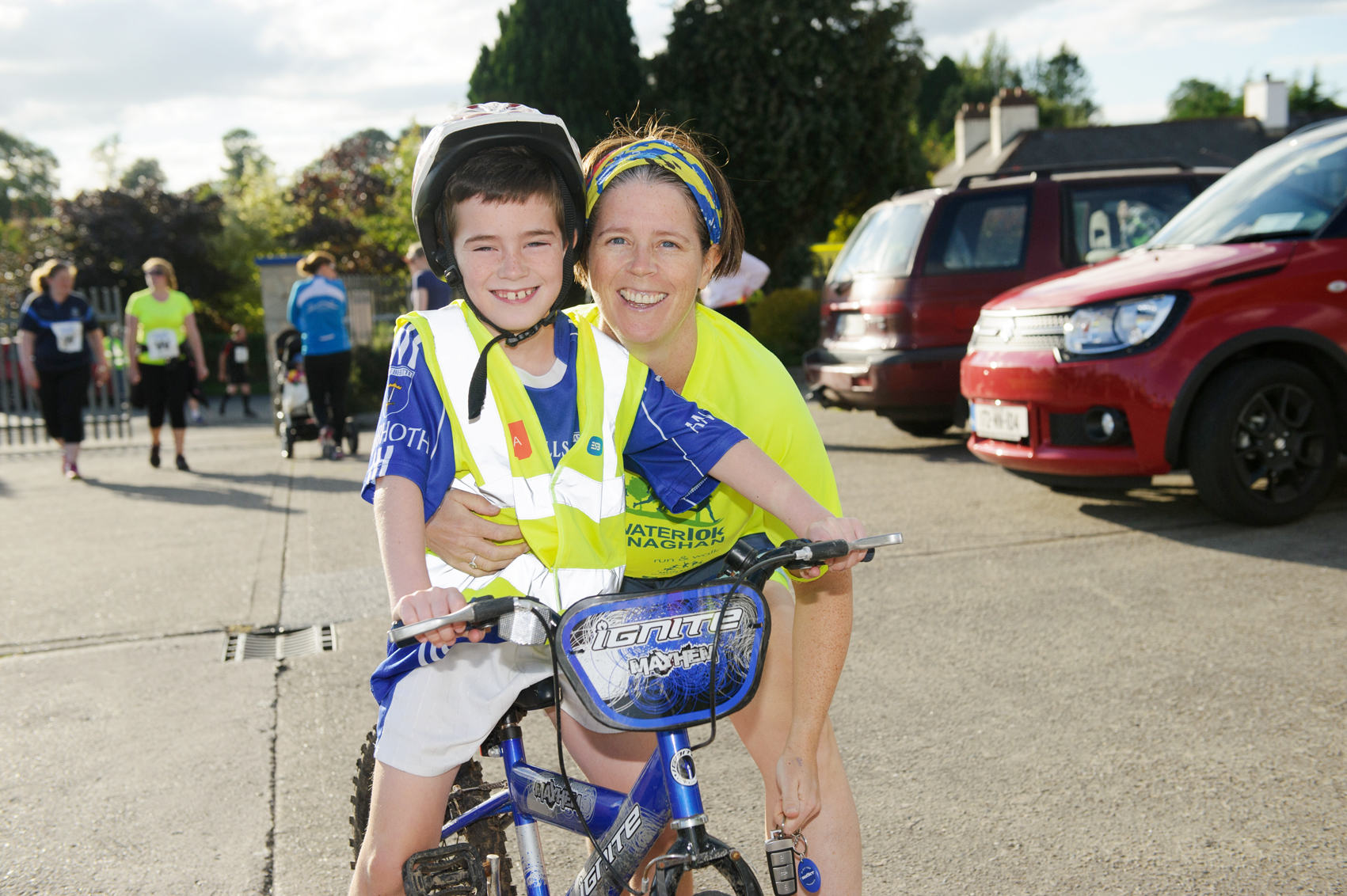 Enda and Fionnuala Sherlock at The Ned Run, last Friday. ©Rory Geary/The Northern Standard