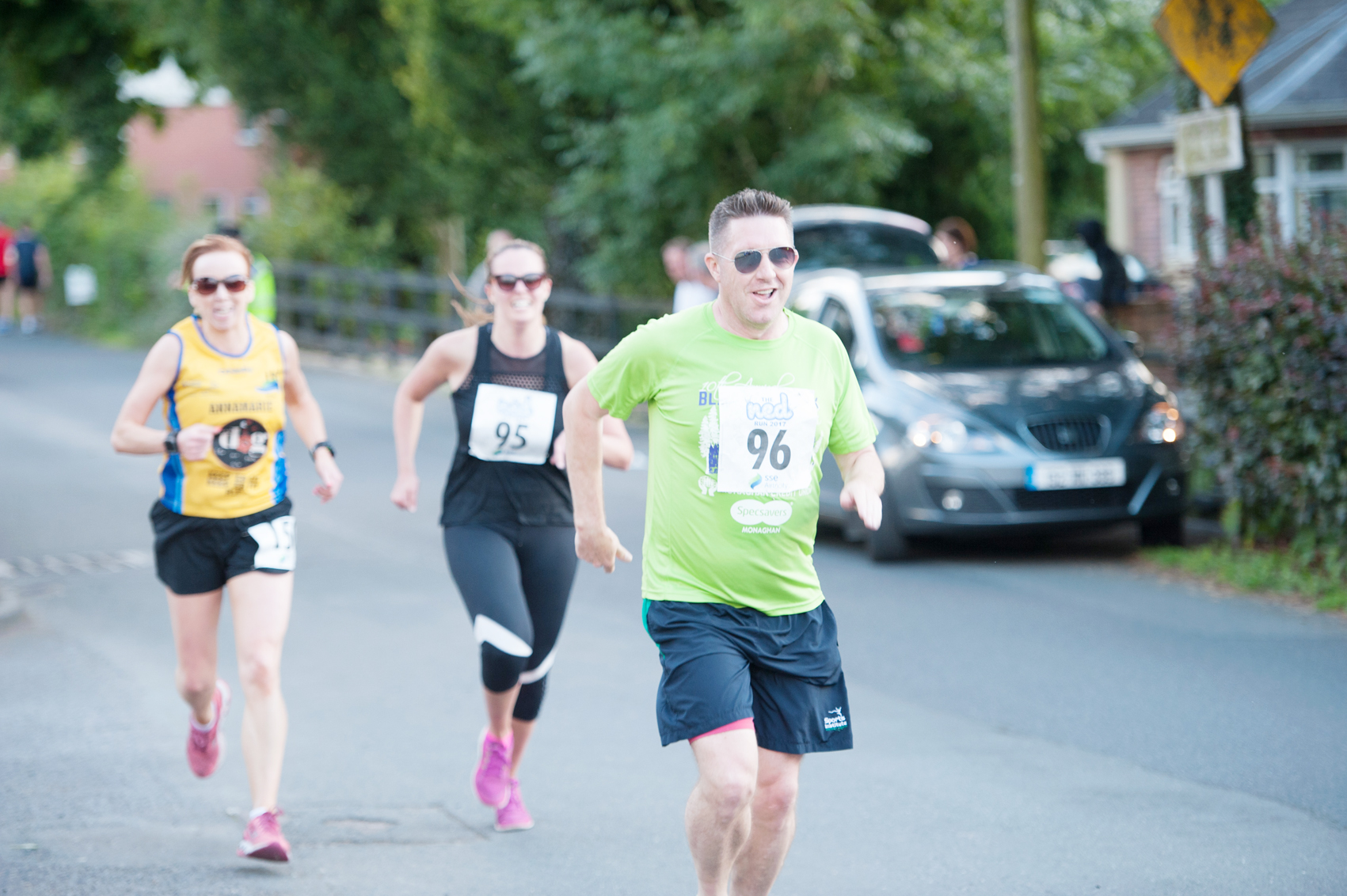 Some of the runners during The Ned Run. ©Rory Geary/The Northern Standard