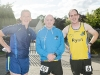At The Ned Run were (L-R) Liam McCarron, Barry Evans and Ryan Smith. ©Rory Geary/The Northern Standard