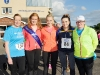 At The Ned Run were (L-R) Kate McAree, Shauna McAree, Tydavnet Show Queen, Edwina McKenna, Shauna Smith and Geraldine McAree. ©Rory Geary/The Northern Standard