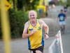 Barry Evans, Monaghan Town Runners, finishing The Ned Run. ©Rory Geary/The Northern Standard