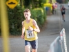 Liam McKenna, Glaslough Harriers, as he finished The Ned Run. ©Rory Geary/The Northern Standard