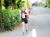 Ciaran Lappin reaching the finish of The Ned Run. ©Rory Geary/The Northern Standard