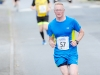 Adrain Toal as he reached the finish of The Ned Run. ©Rory Geary/The Northern Standard