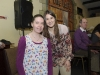 Jayne McEntee with Katie Taylor at the Old School Boxing Club tournament in The Skule Inn, Smithboro. ©Rory Geary/The Northern Standard
