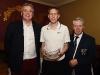 Category 1 winner was Thomas Heffernan who received his award from Barry Healy and John Heffernan. ©Northern Standard