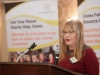 Angela Graham from Clones Family Resource Centre, speaking at their Peace of Mind conference in The Creighton Hotel, last Friday. ©Rory Geary/The Northern Standard