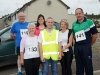 At the Friends of Roslea Shamrock's 5 Miler Cross Border Challenge, were (L-R) Eamon Smith, Ellie Linham, Bernie Smith, Liam Rooney, Friends of Roslea Shamrock's and Bridie and Sean McAleer. ©Rory Geary/The Northern Standard