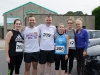 Pictured at the Friends of Roslea Shamrock's 5 Miler Border Challenge were (L-R) Keesa McClave, Malcolm McClave, Michael Treanor, Sabrina Treanor, Grainne Murphy and Margaret Carron. ©Rory Geary/The Northern Standard