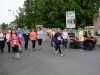 Some of the walkers that took part in the Friends of Roslea Shamrock's 5 Miler Border Challenge, as they started from the club grounds. ©Rory Geary/The Northern Standard