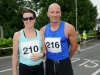 Winners of the Friends of Roslea Shamrock's 5 Miler Border Challenge, Denise Toner and Shane King, before the race last Sunday. ©Rory Geary/The Northern Standard
