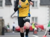 Ryan Smith from Monaghan Town Runners, finishing the Friends of Roslea Shamrock's 5 Miler Border Challenge. ©Rory Geary/The Northern Standard