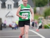 Helen McCrystal, Monaghan Phoenix AC, who finished 2nd in the ladies Friends of Roslea Shamrock's 5 Miler Border Challenge. ©Rory Geary/The Northern Standard