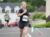 Orla McKenna, who was 3rd lady at the Friends of Roslea Shamrock's 5 Miler Border Challenge. ©Rory Geary/The Northern Standard