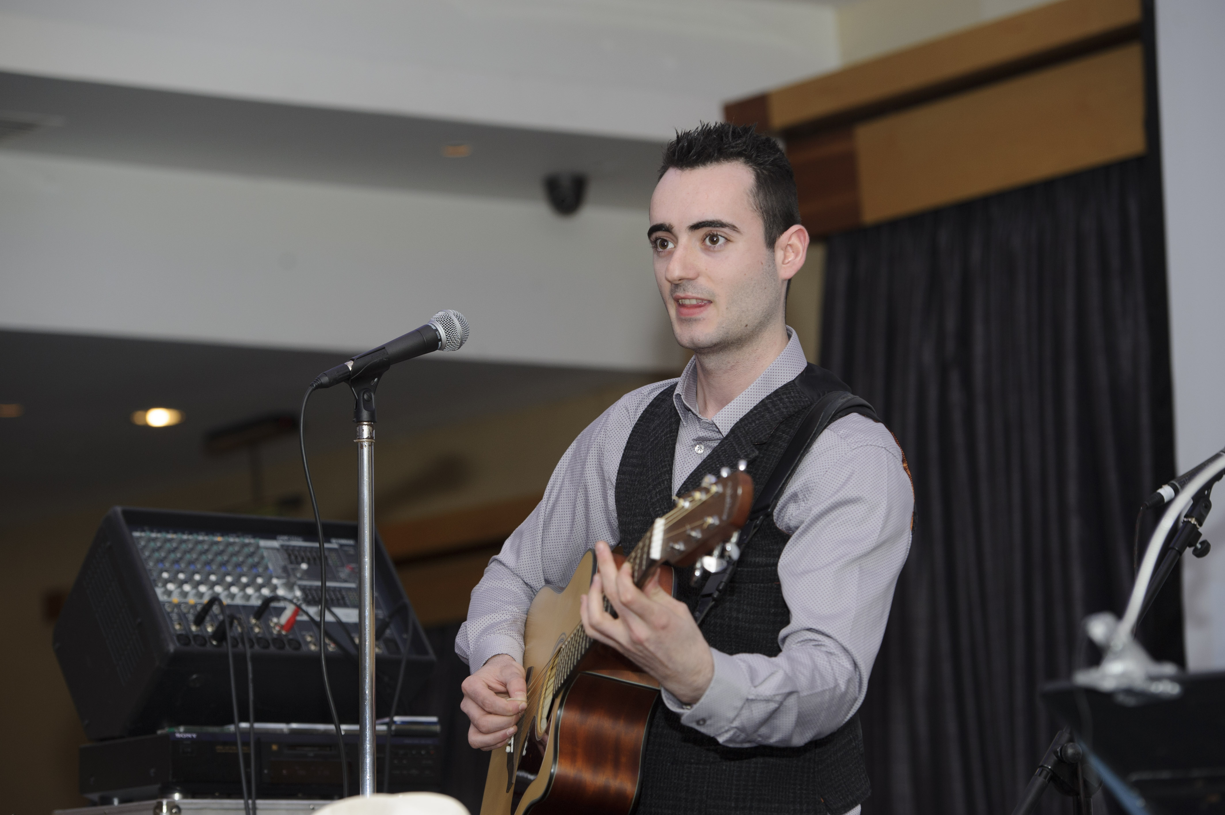 Aidan Clerkin at Pat The President's Country Music & Western Night in The Hillgrove Hotel. ©Rory Geary/The Northern Standard