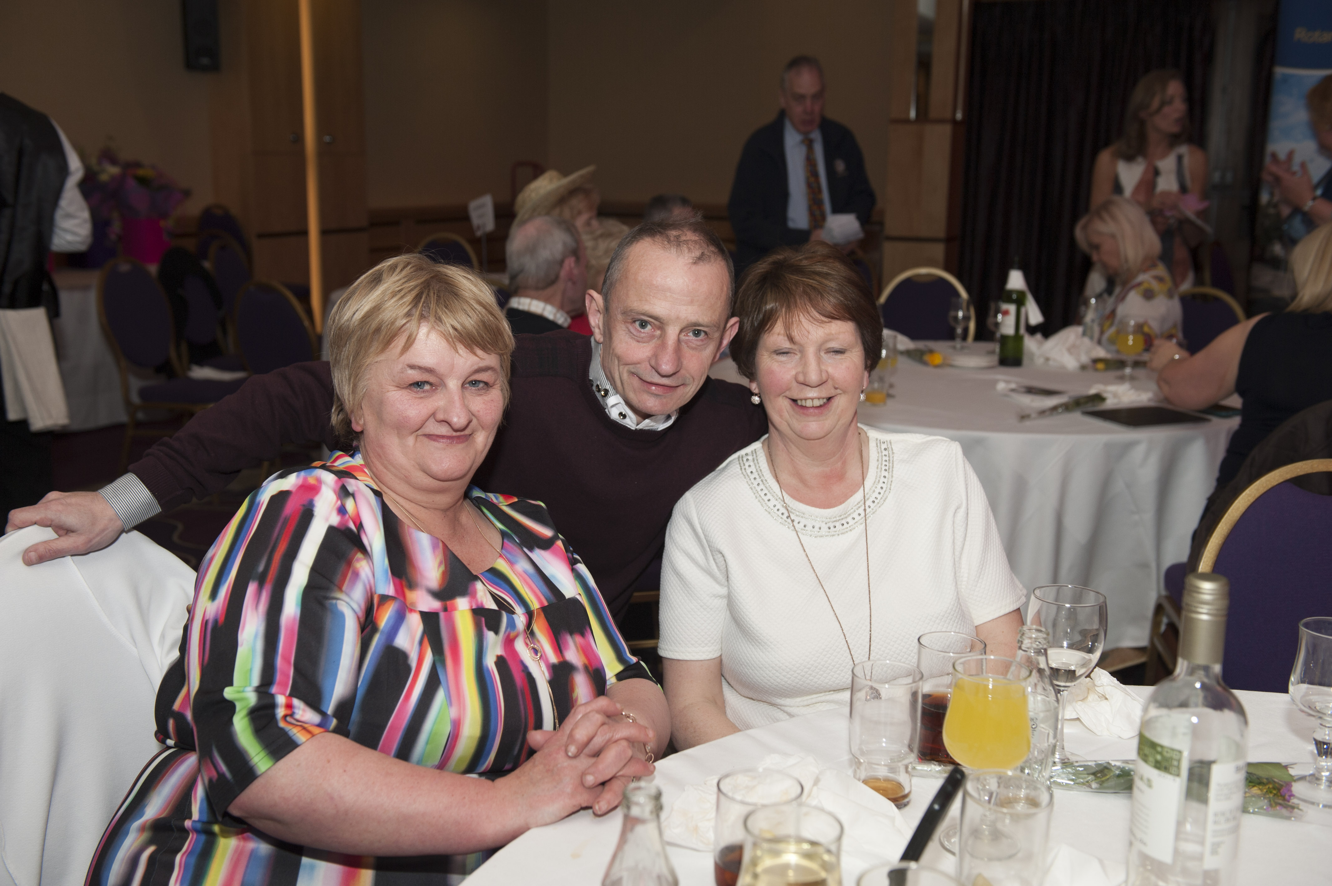 At the Monaghan Rotary Club Country & Western night were (L-R) Mary Ward, Charlie Lennon and Marion McEneaney. ©Rory Geary/The Northern Standard