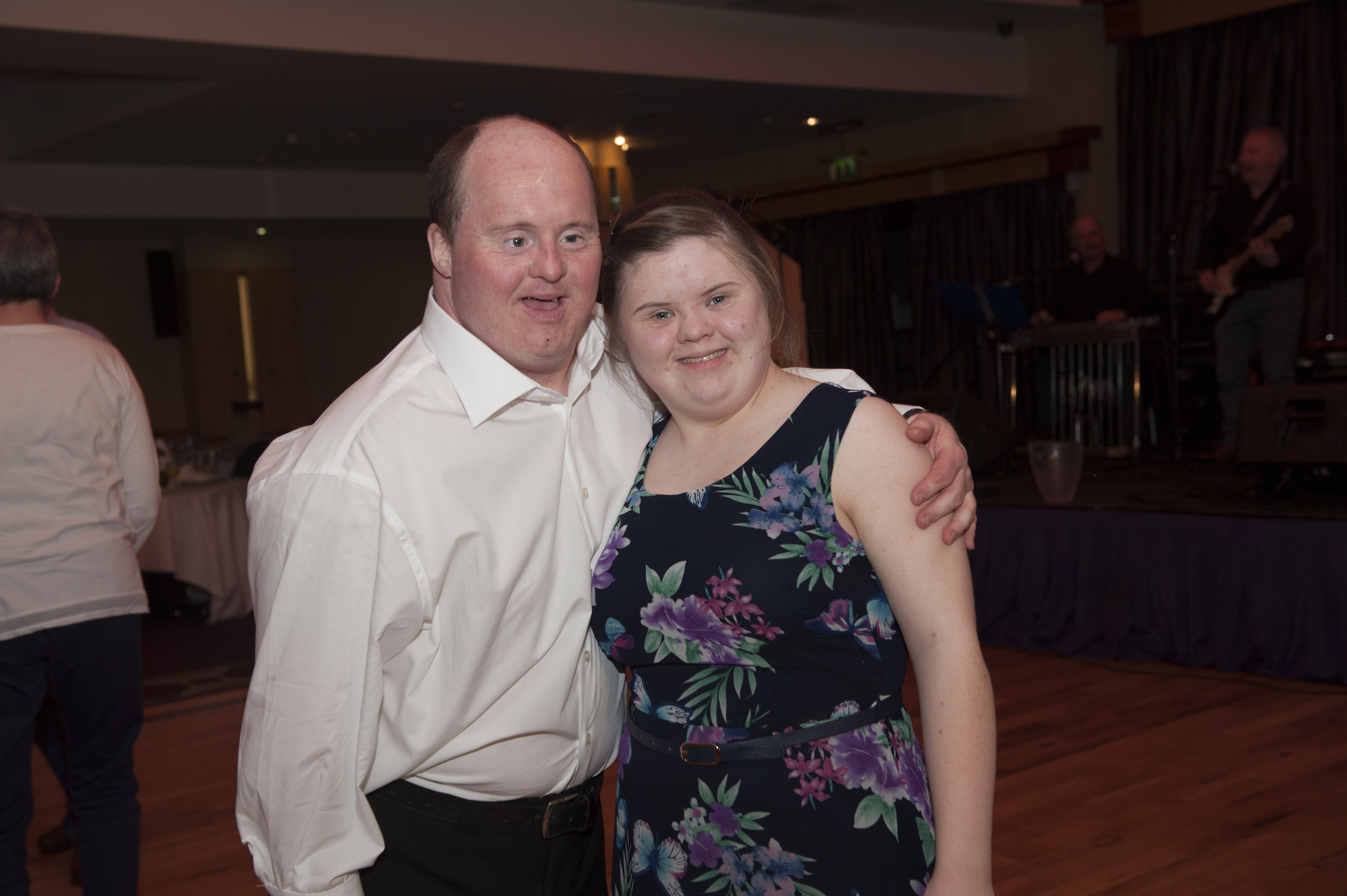 Mark and Claire McElroy at Pat The President's Country Music & Western Night for Monaghan Rotary Club. ©Rory Geary/The Northern Standard