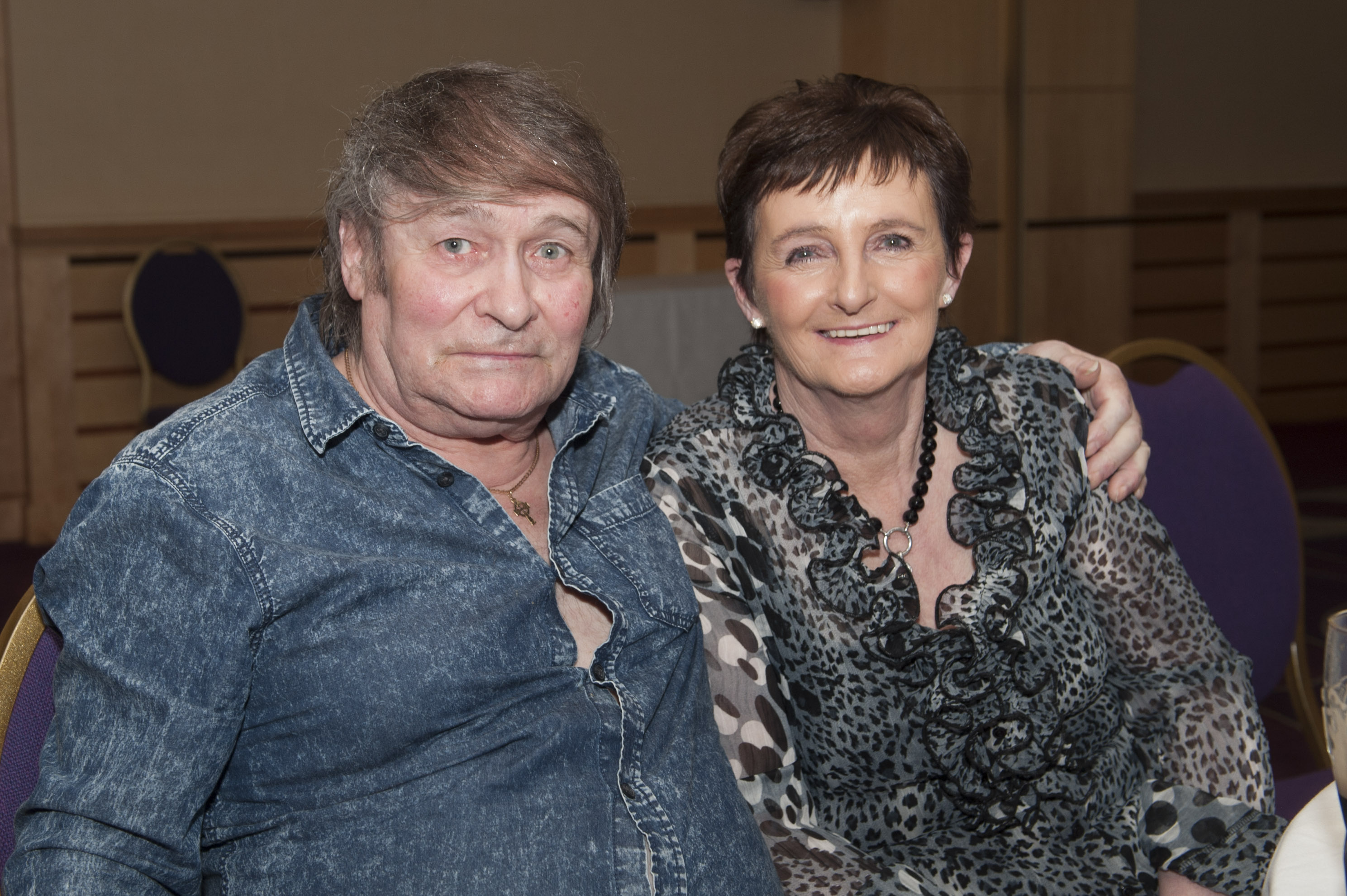 Joe and Jennifer Kelly at Pat The President's Country Music & Western Night for Monaghan Rotary Club in The Hillgrove Hotel. ©Rory Geary/The Northern Standard