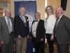 At the Monaghan Rotary Club Country & Western night were (L-R) Michael Quinn, Monaghan Rotary Club, Declan Tuner, District Governor, Rotary Ireland, Pat Deery, President, Monaghan Rotary Club, Lesley Goggins, President, Monaghan Lions Club and John Smith, Monaghan Lions Club. ©Rory Geary/The Northern Standard