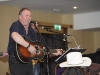Seamus McElwaine playing with The Remnant Ventures Band at Pat The President's Country Music & Western Night in The Hillgrove Hotel. ©Rory Geary/The Northern Standard