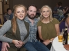 Paul Lavery with Grainne and Dervla McKenna at Pat The President's Country Music & Western Night in The Hillgrove Hotel. ©Rory Geary/The Northern Standard