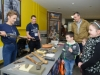 Mairead Long from Monaghan County Museum, showing some of the items from the museum collection that were on display at the science festival fun day at Monaghan Institute. ©Rory Geary/The Northern Standard