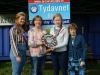 At the presentation of the Monaghan Credit Union Shield for  the Post Primary Section to winner Tarah Sherlock were (L-R) Tydavnet Show Queen Shauna McAree, Maura Mullen, Monaghan Credit Union, Tarah Sherlock and Mary Sherry, President, Tydavnet Show. ©Rory Geary/The Northern Standard