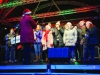 Some of the members of the Monaghan Arch Club Choir singing at the Monaghan Town Christmas Lights Switch-On. ©Rory Geary/The Northern Standard
