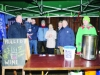 At the Monaghan Rotary Club stall at the event for the switch on of the Monaghan Town Christmas lights were (L-R) Tom Britton, Daniel and Daithi O'Reilly, John Bole, Mary and Michael Quinn, David Johnson, President and Michael Liddle. ©Rory Geary/The Northern Standard