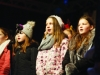 Some of the pupils of St Louis Girls National School at the Monaghan Town Christmas Lights Switch-On. ©Rory Geary/The Northern Standard