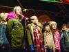 Some of the pupils of Gaelscoil Ultain, on stage at the Monaghan Town Christmas Lights Switch-On. ©Rory Geary/The Northern Standard