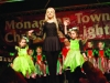 Some of the dancers from Scoil Rínce Ni Bhrogain taking part in the Monaghan Town Christmas Lights Switch-On. ©Rory Geary/The Northern Standard
